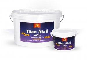 Краска «Titan Acril»